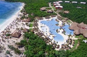Imagen de unos de los establecimientos de Palladium Hotels, en la Rivera Maya