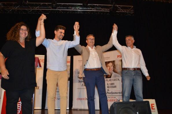 Un acto de la FSE-PSOE en Eivissa.