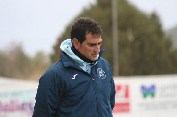 Dani Mori, técnico de la Peña
