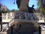 Protesta contra los alquileres abusivos en Ibiza