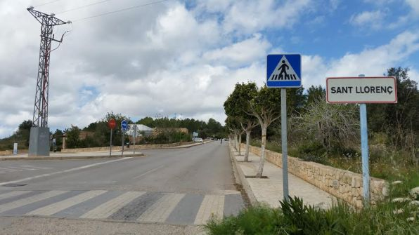 Foto de archivo del pueblo de Sant Llorenç.