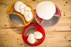 Tipos de Mozzarella artesana.
