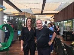 Ferran Adrià y Lara Rodríguez de La Papessa