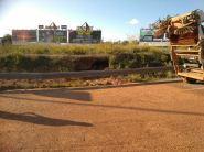 El tráfico se pudo restablecer a pasadas las 9,00 horas de la mañana. Foto: Consell d'Eivissa