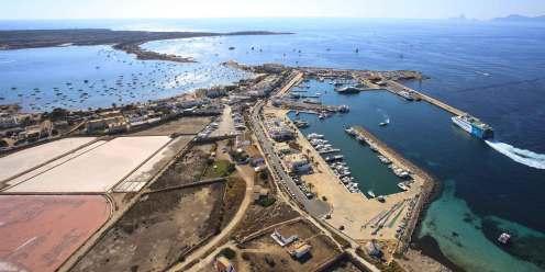 Formentera, puerto de La Savina