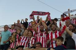 Imagen de la afición del Bilbao. Foto: Paco Natera