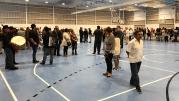 Pabellón de Puig d'en Valls / Inauguración