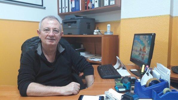 El Presidente de la Asociación de Vecinos Es Clot, Pepe Pérez