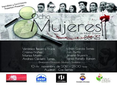 Cartell '8 Mujeres'