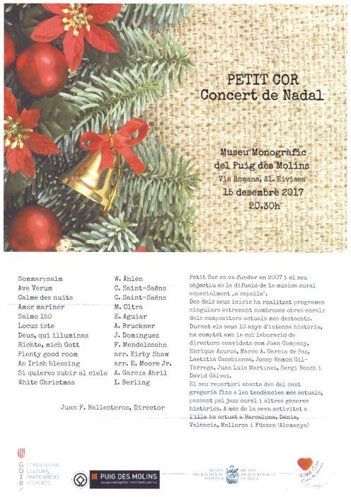Cartell del Concert de Nadal
