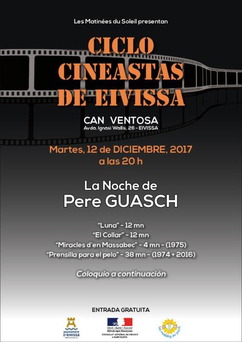 Cartel de ''La Noche de Pere Guasch''