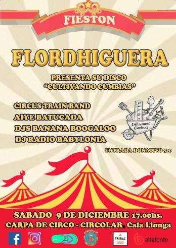 Presentación del disco de Flordhigeura.