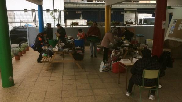 Mercado Solidario Navideño organizado por el CEPA Pitiüses