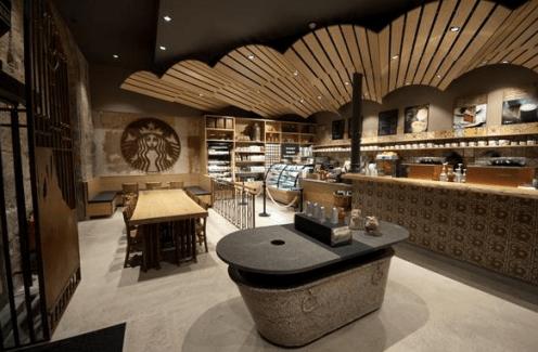 La tienda de la Rambla de Canaletes en Barcelona. Foto: Starbucks.es