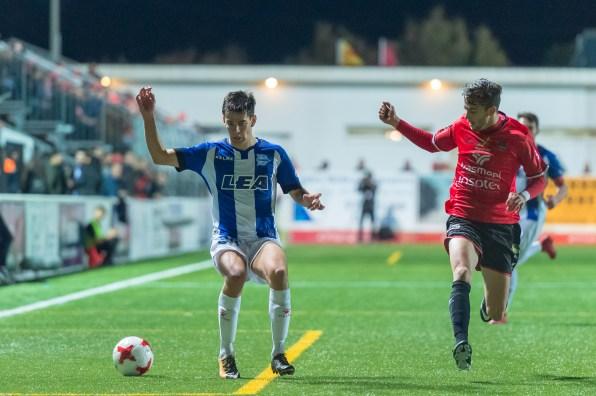 Imagen del partido de Copa del Rey entre la SD Formentera y el Deportivo Alaves. Fotos: Ibiza Photo Agency