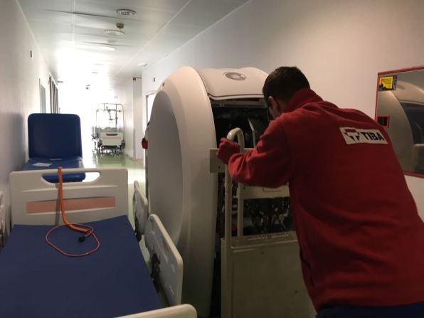 Nuevo TAC del hospital de Formentera. IB-Salut