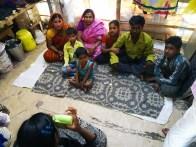 Fujifilm Instax Semilla para el Cambio grupo 1 slums tomando foto sobre la familia 2000