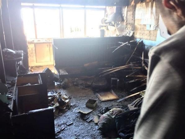 Imagen de archivo de un incendio en una vivienda