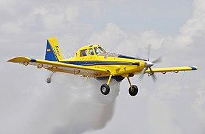 Avioneta Air Tractor 802. Foto Wikipedia.