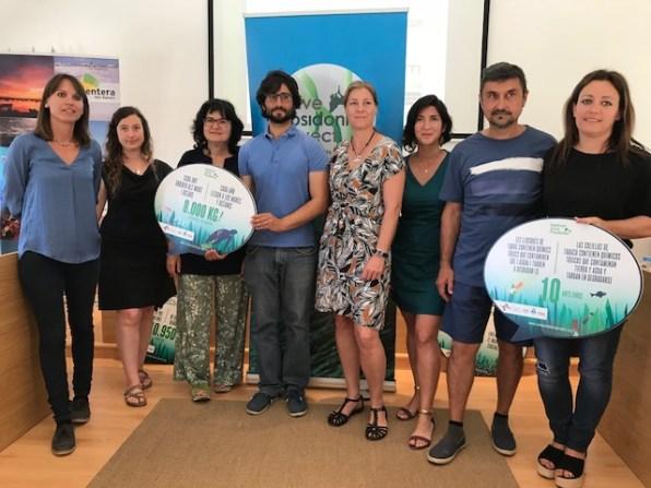 Ganadores Save Posidonia Project de Formentera.