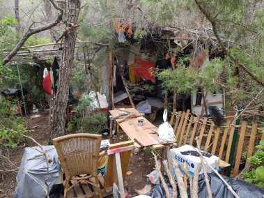 Asentamiento ilegal Santa Eulària