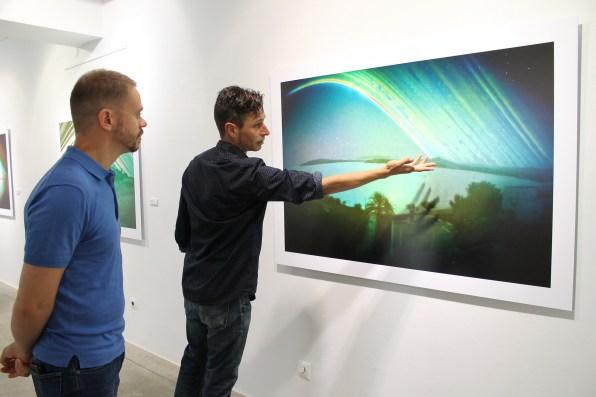 Exposició 'Mòlt de Temps' de Toni Planells a Sa Nostra Sala.