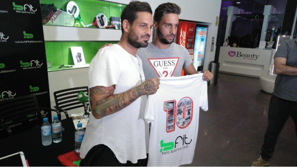 Terán, nuevo jugador del CD Ibiza.