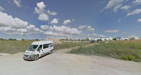Solar donde se construirán las VPO de Puig d'en Valls. Foto Google