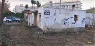 Casa Okupa en la que las excavaciones buscan Nuria Escalante