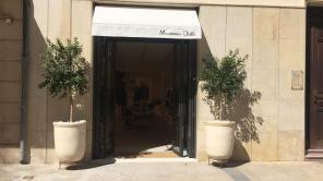 Primer día de Massimo Dutti en la antigua librería Vara de Rey. Foto V. Ribas