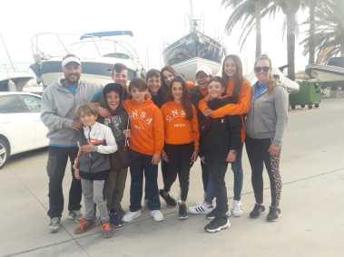 El equipo de Optimist del CNSA