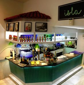 Cafetería Isla.