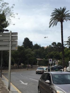 Dispositivo de búsqueda de la Policía Nacional en Ibiza.