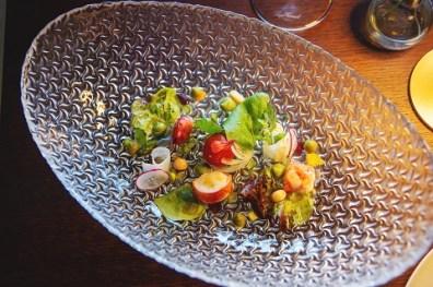 Ensalada Lasarte, uno de los platos preferidos de Martin Berasategui