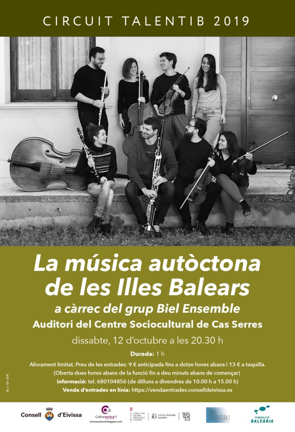 CONSELL - MUSICA AUTOCTONA - POSTER