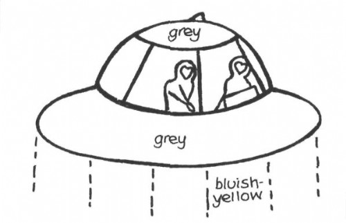 UFO with two occupants seen by Dorset, UK woman