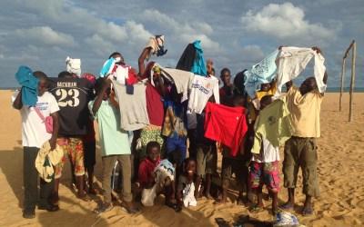 Mission vêtements : Distribution d'habits pour les enfants des rues (Avril/mai 2014)