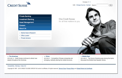 Credit Suisse Personal Banking