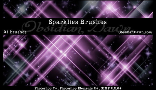 Abstractbrushes33 in 100+ Free High Resolution Photoshop Brush Sets