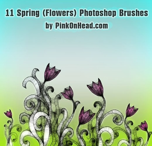 Drawingsbrushes65 in 100+ Free High Resolution Photoshop Brush Sets