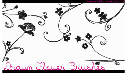 Drawingsbrushes66 in 100+ Free High Resolution Photoshop Brush Sets