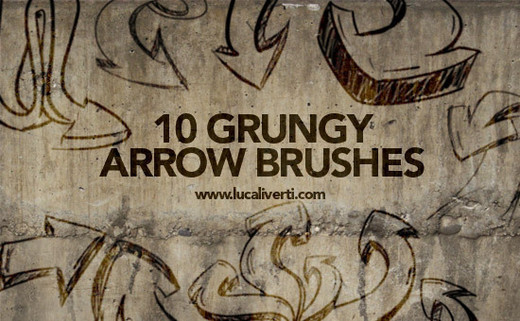 Grungebrushes53 in 100+ Free High Resolution Photoshop Brush Sets