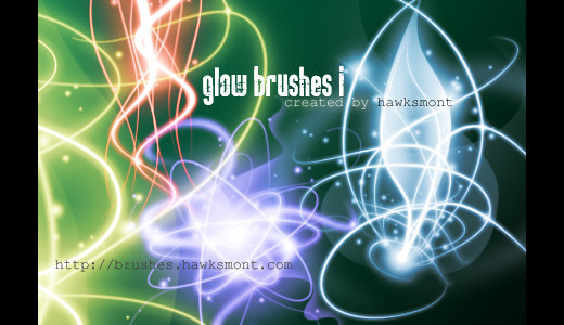 Lighteffectbrush19 in 100+ Free High Resolution Photoshop Brush Sets