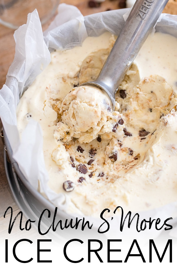 No churn smores ice cream nourish and fete a huge summer hit the best easy recipe for no churn ice cream packed ccuart Choice Image