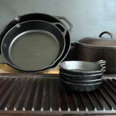 Rescue Rusted Cast Iron Cookware