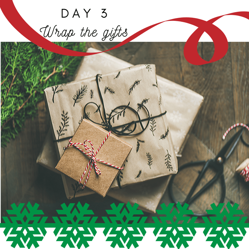 #10 in #1000WaystoNourish | Don't make trash a holiday tradition | Don't throw wrapping paper | Nourish by Numbers