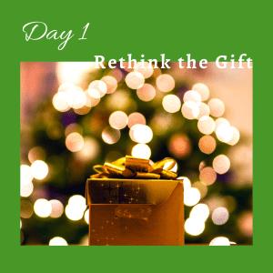 Rethink the season of giving