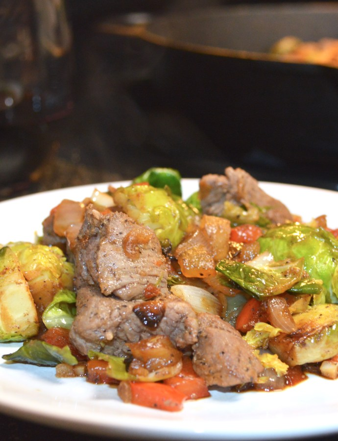 Bragg's Steak Stir-Fry for Two