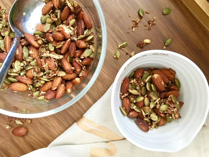 Roasted Cinnamon Coconut Trail Mix
