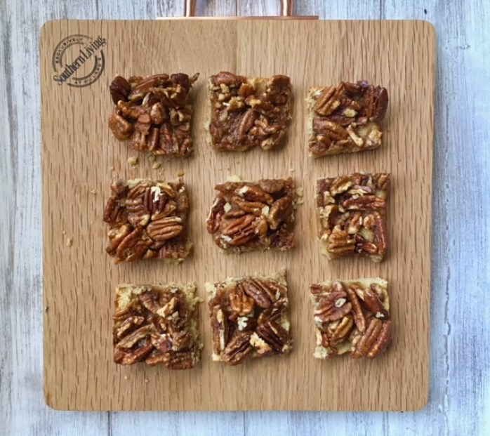 Make Ahead Paleo Pecan Pie Bars